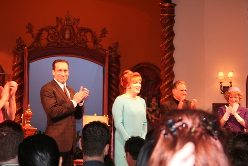 Chris Hoch, Charles Busch, Bob Ari and Kristine Nielsen at 'Die Mommie Die!' Opening Night