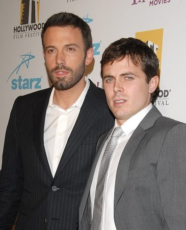 Ben Affleck and Casey Affleck at Hollywood Film Festival Awards