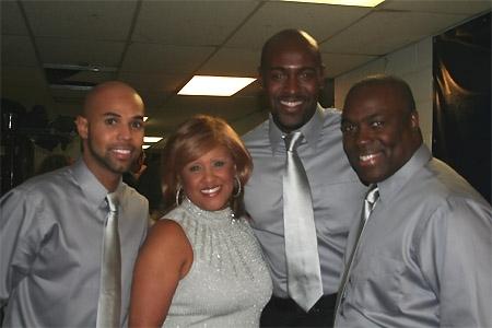 Miles Johnson, Darlene Love, John Eric Patrick and C.E. Smith