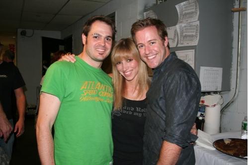 Mitchell Jarvis, Deborah Gibson and Greg Reuter