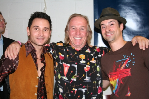 Travis Cloer, Jackie Martling and Dominic Nolfi