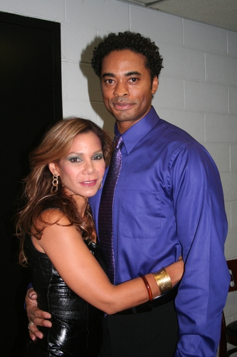 Daphne Rubin Vega and Destan Owens Photo