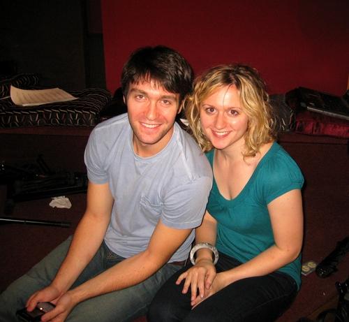 Danny Bimstock and Felicia Ricci