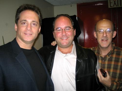 Lyricist/Librettist Laurence Holzman, Composer Kyle Rosen and Kenny Morris