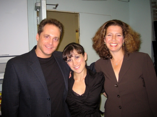 Laurence Holzman, Deone Zanotto and Felicia Needleman