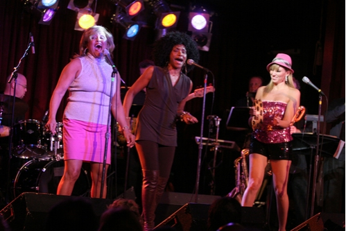 Darlene Love, La La Brooks and Deborah Gibson