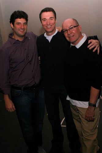 Matt August, Patrick Page and Jack O'Brien