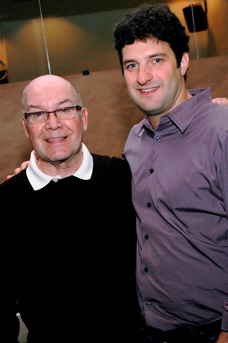 Jack O'Brien (Original Production Conceiver and Director) and Matt August (Director) Photo