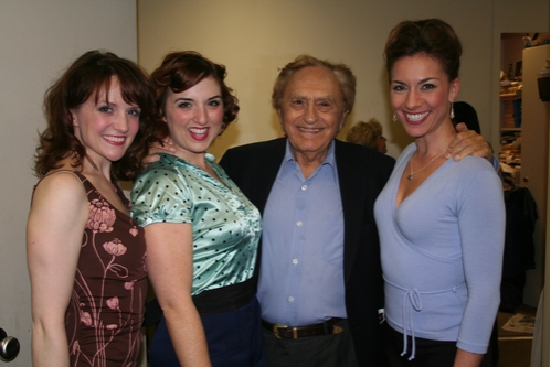 Betsy DiLellio (Simone), Jacque Carnahan (Nicole), Joseph Stein and Wendi Bergamini (Inez)