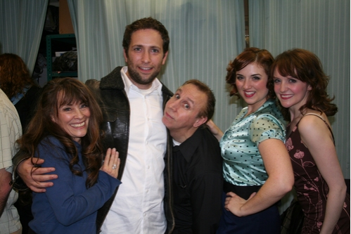 Gay Marshall, David Rossmer, Rick Crom, Jacque Carnahan and Betsy DiLellio