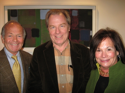 Michael McKean with producers Barbara and Buddy Freitag