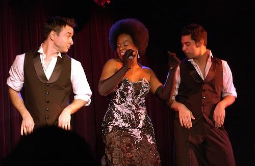 John Carroll, Anastacia McCleskey, Daniel Hunalp Photo