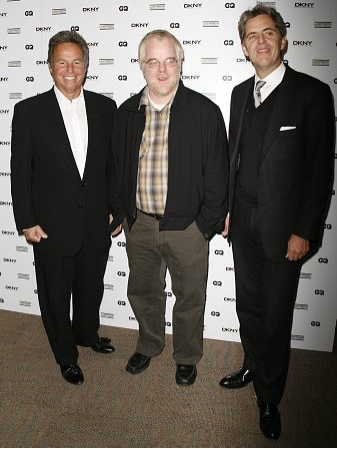 Mark Webber, Philip Seymour Hoffman and Peter Hunsinger Photo