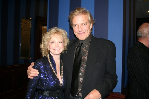 Roberta Silbert (CTFD West Coast Chair) and Peter Martins (New York City Ballet)