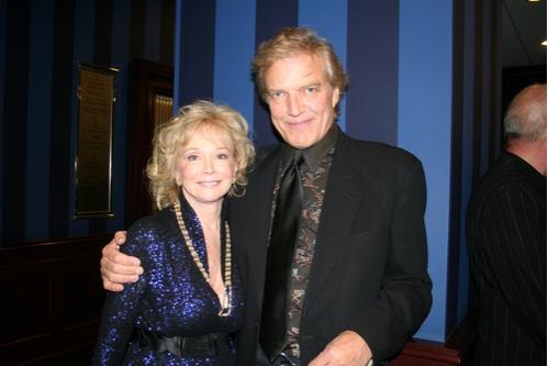 Roberta Silbert (CTFD West Coast Chair) and Peter Martins (New York City Ballet)