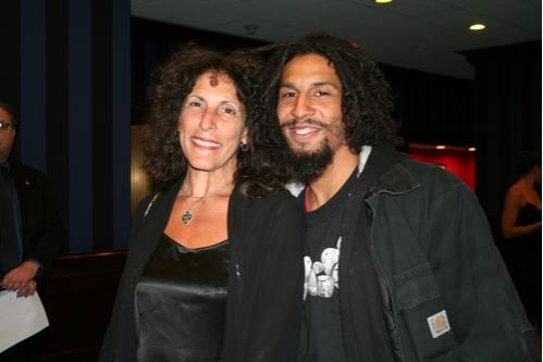 Sue Samuels and Jason Samuels Smith