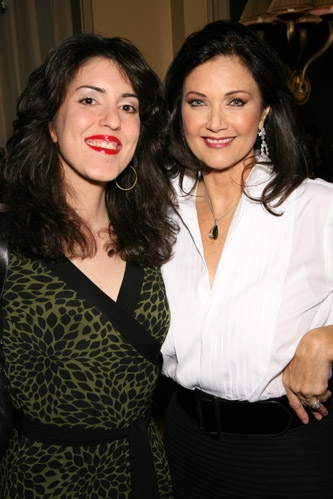 Pamela Luss and Lynda Carter
