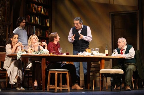 Nicole Ansari, Brian Avers as Stephen, Alexandra Neil as Candida, Quentin Mare as Nigel, Rufus Sewell and Brian Cox