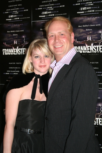 Sofia Swannell and Stephen Purdy (Music Director)