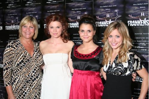 Kim Zimmer, Mandy Bruno, Alexandra Chando and Marcy Rylan