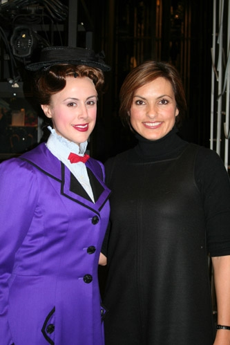 Megan Osterhaus and Mariska Hargitay
