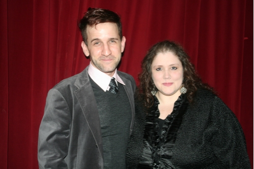 David A. Austin and Honoree Producer Jennifer Maloney