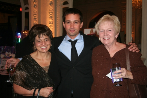Stephanie Carlson, Robert Ahrens and Helen Ahrens