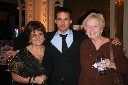 Stephanie Carlson, Robert Ahrens and Helen Ahrens