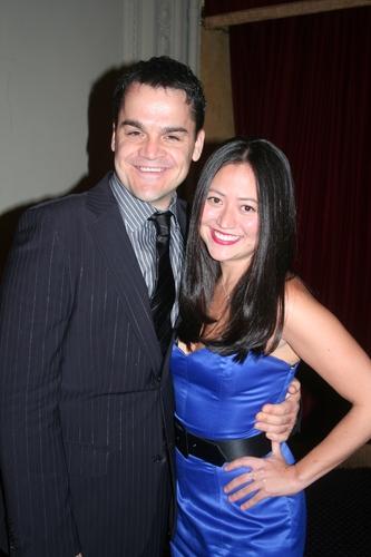 Kris Stewart and Playwright Marissa Kamin (Fabulous Life of a Size Zero)