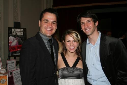 Kris Stewart, Ana Noguieria and Michael Zahler