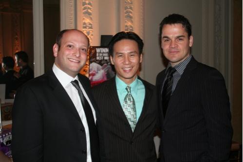 Isaac Robert Hurwitz, B.D. Wong and Kris Stewart