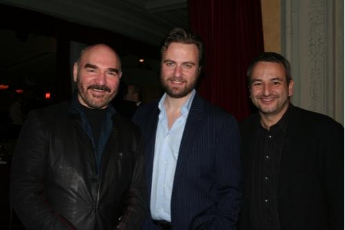 Jon Kimbell, Manoel Felciano and Joe DiPietro