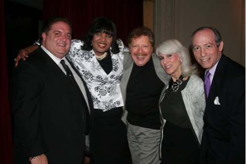 Ray Melillo (Upcoming Angels team), Felicia Lopes, Robert R. Blume, Jamie DeRoy and S Photo