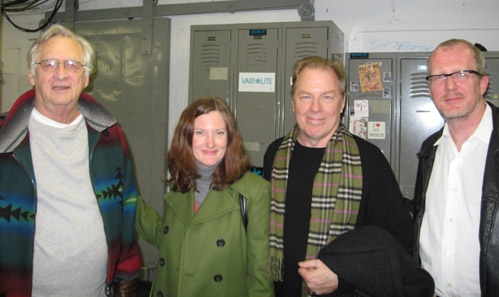 A Family Affair: Father and son Tracy Letts and Dennis Letts, with husband and wife Michael McKean and Annette O'Toole