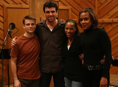 l-r: August Eriksmoen, Bradley Dean, Nikki M. James and Cheryl Freeman Photo