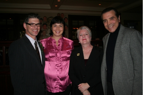 Jack Tantleff (WMA), Xanthe Jory (Executive Director, The Bronx Charter School of the Arts), Fran Engoron (Board Chairman, The Bronx Charter School for the Arts) and Chaz Palminteri