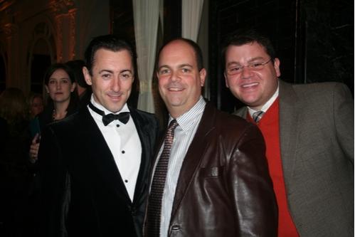 Alan Cumming, Brad Oscar and Diego Prieto