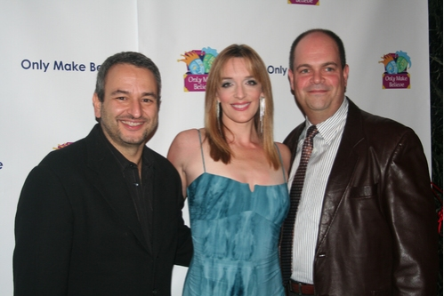 Joe DiPietro, Julia Murney and Brad Oscar