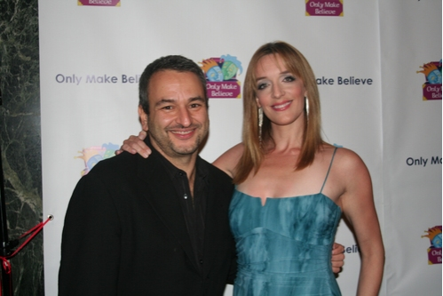 Gala Director Joe DiPietro and Julia Murney