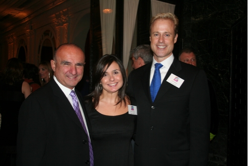 Anthony Lobosco, Kristina Lobosco and Glenn Connolly