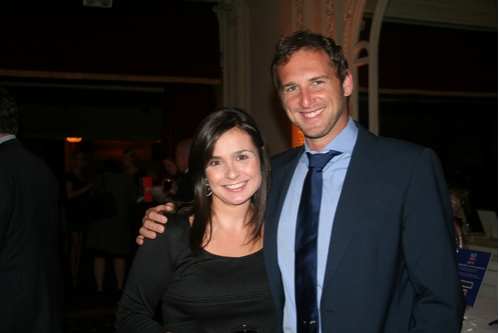 Kristina Lobosco and Josh Lucas