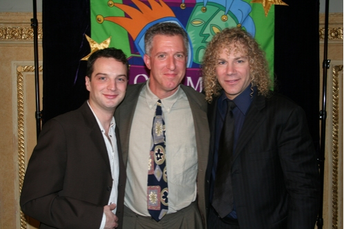 Euan Morton, Russell Hartophilis and David Bryan