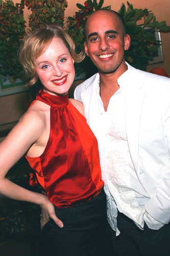 Erin Davie and Nehal Joshi
