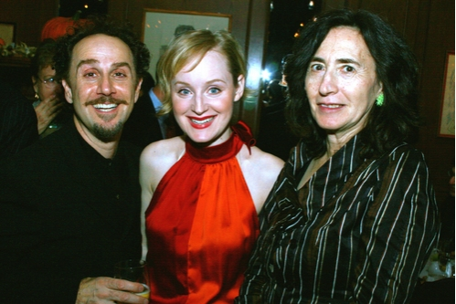 John Kassir, Erin Davie and Francine Prose at 'The Glorious Ones' Opening Night