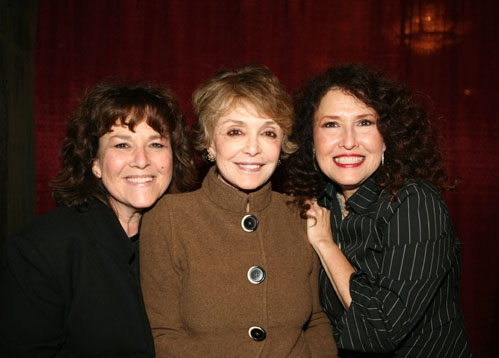 Claudia Cagan (Melissa's Sister) and Anna Maria Alberghetti with Melissa Manchester