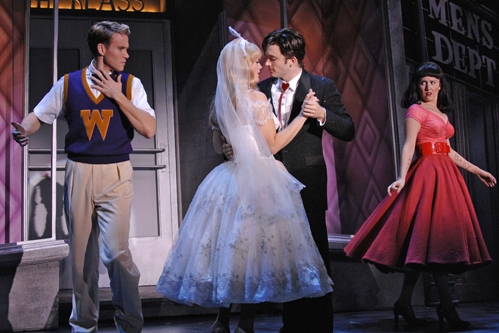 Christopher J. Hanke (Baldwin), Elizabeth Stanley, James Snyder and Alli Mauzey (Lenora)