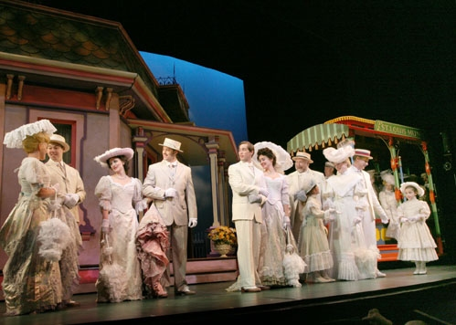 Erin Henry, Christian Delcroix, Julia Osborne, Patrick Cummings, Brian Hissong, Brynn O'Malley, JB Adams, Roni Caggiano, Donna English, Gregg Edelman, Sophie Rudin at 'Meet Me in St. Louis' at Paper Mill Playhouse