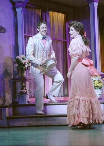 Patrick Cummings (Warren Spencer) and Julia Osborne (Rose Smith) Photo