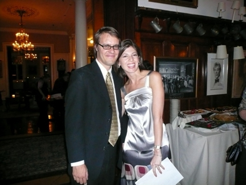 Carl Forsman (Advisory Board Member/Artistic Director of Keen Company) and Jeanne LaSala (Coyote REP Artistic Director)