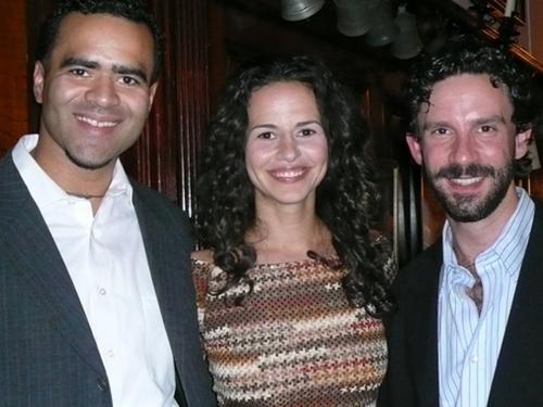 Chris Jackson, Mandy Gonzalez and Jeremy Dobrish